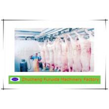 Equipamentos de linha de abate de suínos / máquina de abate