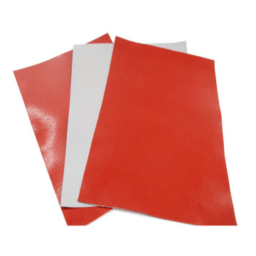 Heat resistant silicone coated fiberglass fabric