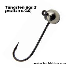 Вольфрамовые джиг 2 (mustad крючок)