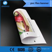 Niedriger preis 230gsm zu 680gsm kunststoff banner material digital print medien