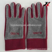 Guantes de lana roja de alta calidad con precio barato