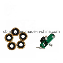Oxygen Click-Style Regulators with Brass Washer Seal
