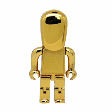Windows Mini Robot Metal flash drive USB