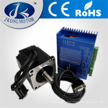 CNC Hybrid Closed loop Step Servo Drive + 8.5N.M JK86HS115 Stepper Motor + Encoder+3m Cables