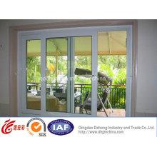 Ventana corrediza de PVC / aluminio de calidad superior con buen precio