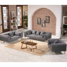 Mediterranean Sea Style Fabric Sofa, Modern Living Room Sofa (F010)