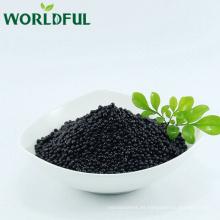mejore la fertilización del suelo fertilizante granular ácido húmico + aminoácido orgánico con NPK 12-0-4