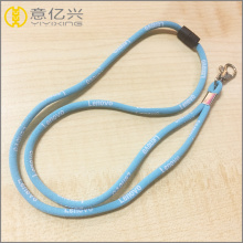 supple stretch polyester sublimation string rope lanyards