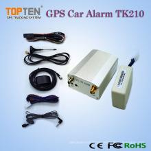 Wireless tempo real GPS Car Alarm / GPS Tracker com controle remoto, falando bidirecional Tk210 (WL)