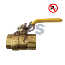 high quality 600 WOG lead free full port brass ball valve NPT thread with manual handle