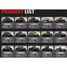 1/24 Scale Electric Power Licenced Model Tanks