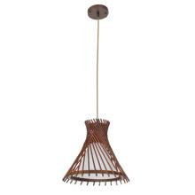 La última lámpara colgante de techo de madera clásica