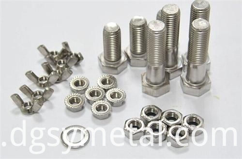 Hex Panel Nuts