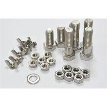 Aluminum set screw anchor slotted set screw