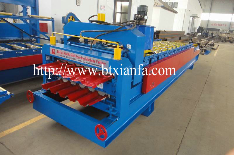 automatic metal cold roll forming machine