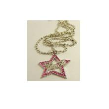 Fashion Accessories Star Shape Crystal Metal Pendant