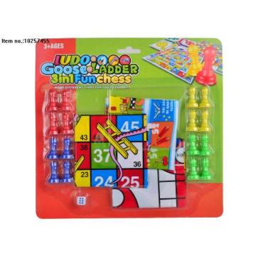 3 em 1 xadrez divertido brinquedos para crianças