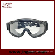 Tacitcal lunettes de protection Airsoft Goggle PC lunettes noir lunette de protection balistique