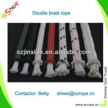 3-7mm colored polypropylene polyester mixed rope