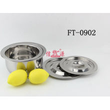 Stainless Steel Round Hot Pot (FT-0902-XY)