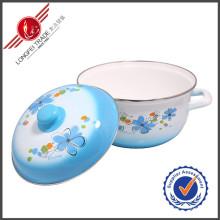 Potenciômetro de venda quente de Stauce dos cookware do esmalte
