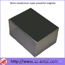Super leistungsstarke Neodym-Magneten zu blockieren