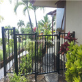Black Aluminum Maintenance-free Ornamental Garden Fence