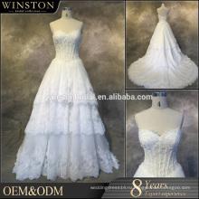 2016 новая мода реальные фото рукавов свадебные платья