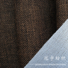 Telas de sofá de lino compuestas de punto de Oxford Style