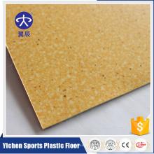 Rollo del suelo del PVC Rollo de la tapicería del coche Hoja de plástico Diseño de la moneda suelo de pvc no tejido y fieltro