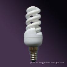 Bombilla de ahorro de energía espiral 11W