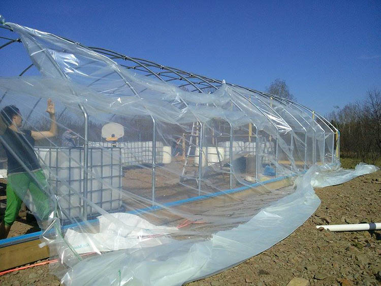 Greenhouse Hot Dip Galvanized Frame