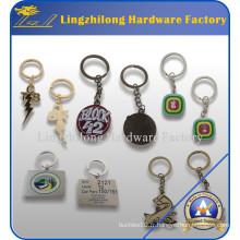 Porte-clés en métal bon marché