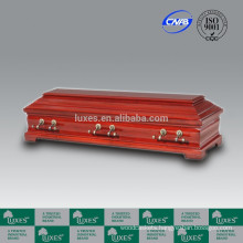 LUXES Wholesale European German Style Wooden Coffins China MANUFACTURE