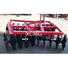 Light-duty Tractor Disc Harrow 1bqxj-1.7 With Gas-filled Rubber Wheel
