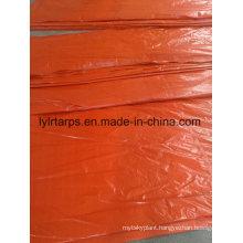 Light-Duty Orange Tarpaulin Truck Cover, China PE Tarpaulin