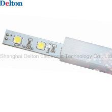 Impermeable PMMA perfil DC24V LED barra de luz del gabinete con certificado CE