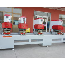 Máquina de soldadura sin costura de PVC de cuatro cabezales