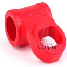 Manija de válvula de fundición de hierro para accesorio de válvula