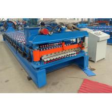 Tejido corrugado que forma la máquina hecha en China