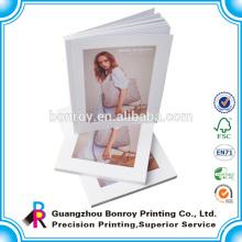 Precio de fábrica impresión moda tapa modelo superior libro de colorear