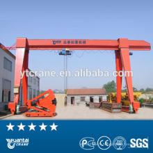 palan électrique à chaîne monofaisceau utilisé 25 tonnes de grue portique mobile portique