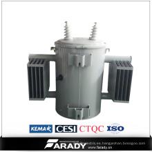Transformador monofásico transformador solo sumergido 100kVA del aceite