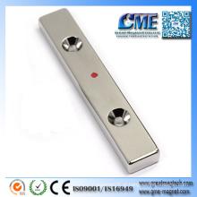 Materiais magnéticos da placa da filtragem magnética para Magn permanente