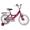 Bicicleta blanca del niño del estilo de la muchacha del neumático del aire