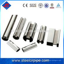 Les grossistes en gros chinois ont galvanisé un tube en acier sans soudure pour les matériaux de construction et l'oléoduc