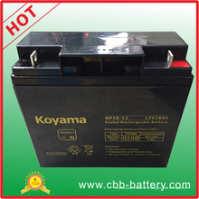 12В 18ач свинцовокислотной батареи AGM для внедорожника