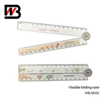 Plastic Flexible Ruler for School and Office Stationery