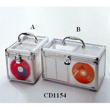 alta calidad 120 y 160 discos cd acrílico porta CD por mayor