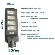 Energy-saving solar street light 120W